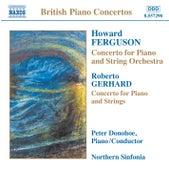 FERGUSON / GERHARD / ROWLEY / DARNTON: Piano Concertos by Peter Donohoe