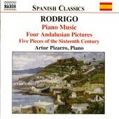 RODRIGO: Piano Music, Vol. 1 by Artur Pizarro