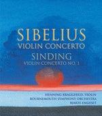 SIBELIUS: Violin Concerto / SINDING: Violin Concerto No. 1 by Henning Kraggerud
