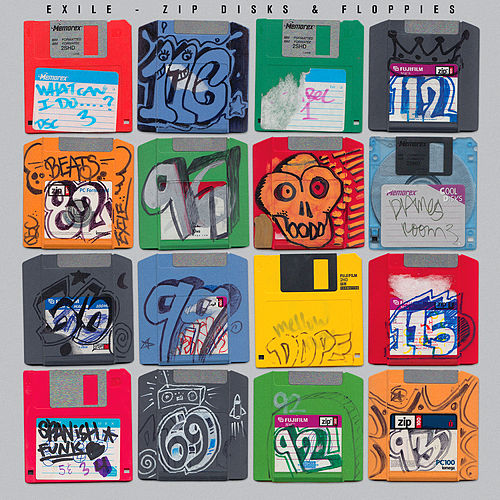 Zip Disks & Floppies by Exile