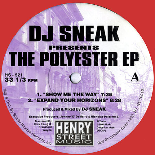 The Polyester EP - Re-issue by DJ Sneak