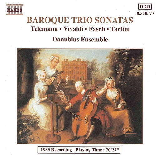BAROQUE TRIO SONATAS by Danubius Ensemble