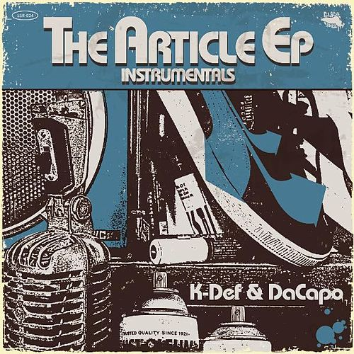 The Article Instrumentals by K-Def