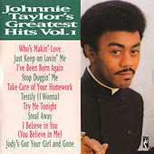 Greatest Hits Vol. 1 by Johnnie Taylor