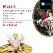 Violin Concertos Nos. 4 and 5 / Rondo K. 373 / Adagio K. 261 by Wolfgang Amadeus Mozart