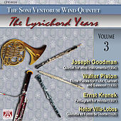 Joseph Goodman - Walter Piston - Ernst Krenek - Heitor Villa-Lobos by The Soni Ventorum Wind Quintet