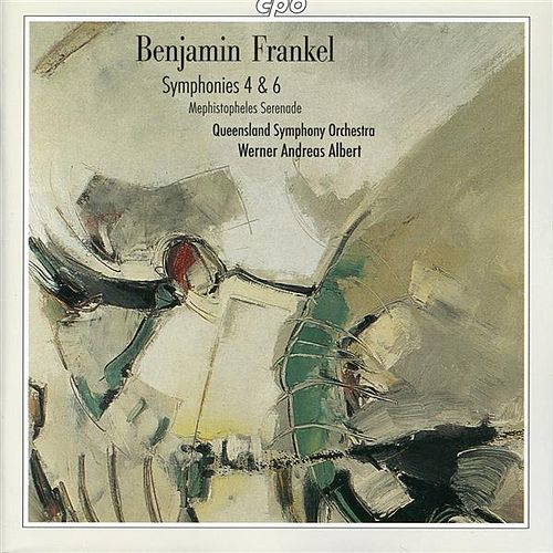 Frankel: Symphonies Nos. 4 and 6 - Mephistopheles Serenade by Queensland Symphony Orchestra