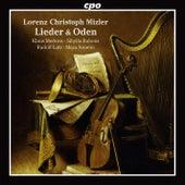 Lorenz Christoph Mizler: Lieder & Oden by Klaus Mertens