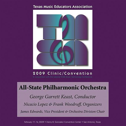2009 Texas Music Educators Association (TMEA): All-State Philharmonic Orchestra by Texas All-State Philharmonic Orchestra