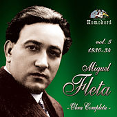 Miguel Fleta: Obra Completa, Vol. 5 (1930/34) by Various Artists