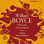 Overtures & Concerti Grossi by William Boyce