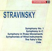 Stravinsky:  Symphony In C; Symph. No. 1; Ode; Symph. In 3 Movements; Symph. Of Wind Instruments; Fairy's Kiss by Igor Stravinsky