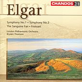 Elgar:  Symphony No. 1 In A Major, Op. 55; The Sanguine Fan, Op. 81; Froissart Overture, Op. 19; Symphony No.2 by Edward Elgar