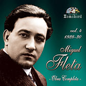 Miguel Fleta: Obra Completa, Vol. 4 (1928/30) by Various Artists