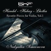 Handel-Hubay-Lhotka: Favorite Pieces for Violin, Vol. 1 by Various Artists