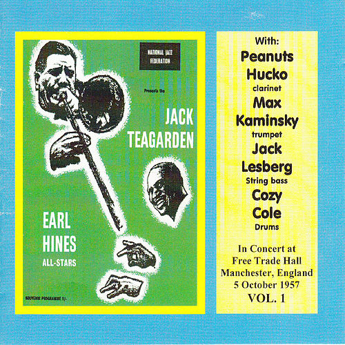 In Concert at Free Trade Hall, Manchester 1957: Vol. 1 by Earl Fatha Hines