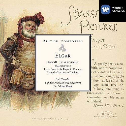 Elgar Falstaff, Cello Concerto etc by London Philharmonic Orchestra