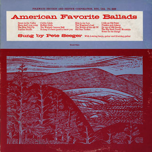 American Favorite Ballads, Vol. 1 by Pete Seeger