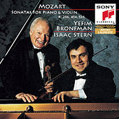Mozart: Sonatas for Violin and Piano, K. 454, 296 & 526 by Isaac Stern