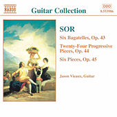 SOR: 6 Bagatelles, Op. 43 / Progressive Pieces, Op. 44 by Jason Vieaux