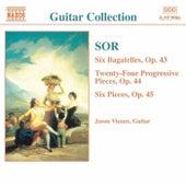 SOR: 6 Bagatelles, Op. 43 / Progressive Pieces, Op. 44 by Jason Vieaux