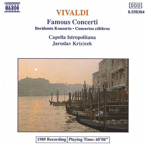 VIVALDI: Famous Concertos by Various Artists