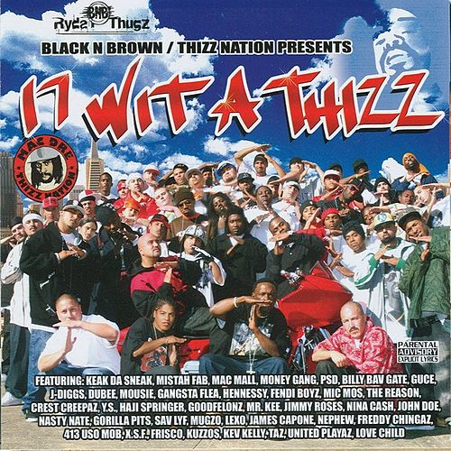 17 Wit A Thizz by Various Artists