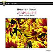 Hartmann: 27. April 1945; Janacek: 1.X.1905 by Benedikt Koehlen