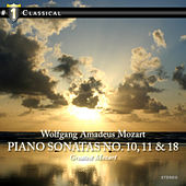 # 1 Classical - Piano Sonatas no. 10,11 & 18 by Carmen Piazzini