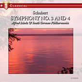 Schubert: Symphony No. 3 and 4 by Alfred Scholz