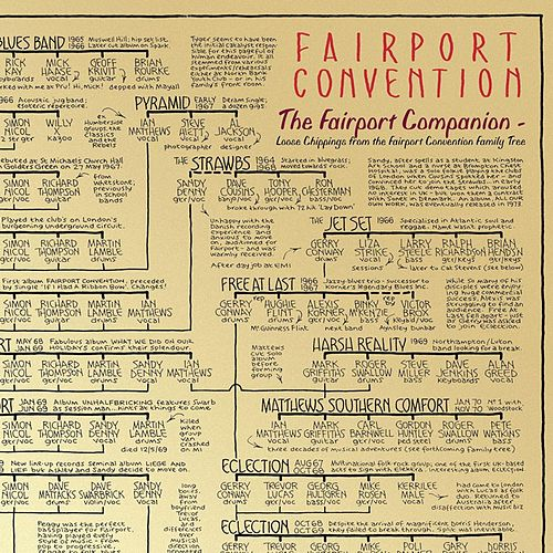 Fairport Convention: The Fairport Companion - Loose Chippings from the Fairport Convention Family Tree by Various Artists