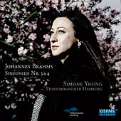 Brahms: Symphonies Nos. 3 & 4 by The Hamburg Philharmonic Orchestra