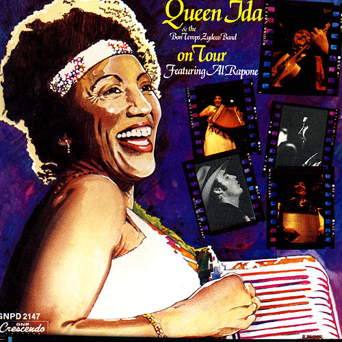 Queen Ida & The Bon Temps Zydeco Band: On Tour by Queen Ida