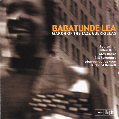March of the Jazz Guerillas by Babatunde Lea