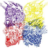 Purple Yellow Red and Blue by Portugal. The Man