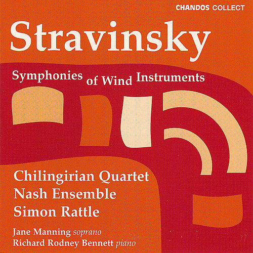 Stravinsky:  Symphonies Of Wind Instruments; 3 Pieces For String Quartet; 3 Japanese Lyrics; 2 Poems Of Balmon by Igor Stravinsky