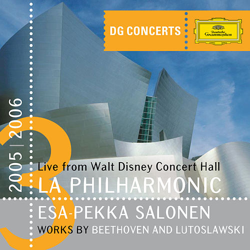 Beethoven: Symphony No. 5; Overture 'Leonore II'/Lutoslawski: Symphony No.4 by Los Angeles Philharmonic Orchestra