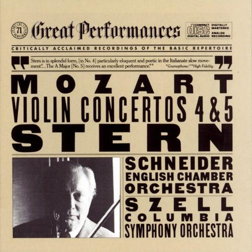 Mozart:  Violin Concertos Nos. 4 & 5 by Isaac Stern