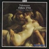 Telemann: 24 Oden 1741 by Klaus Mertens