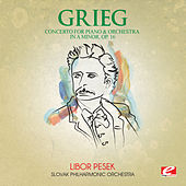 Grieg: Concerto for Piano and Orchestra in A Minor, Op. 16 (Digitally Remastered) by Slovak Philharmonic Orchestra