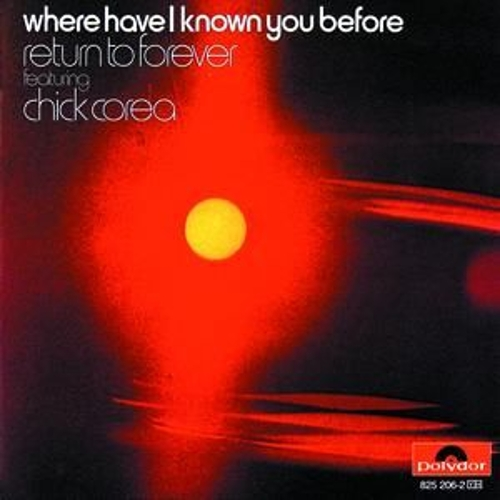 Where Have I Known You Before by Chick Corea