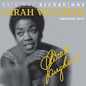 Sarah Vaughan : Greatest Hits (Original Recordings) by Sarah Vaughan