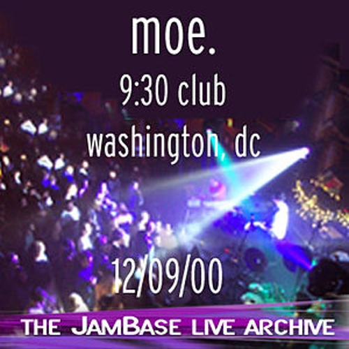 12-09-00 - 9:30 Club - Washington, DC by moe.