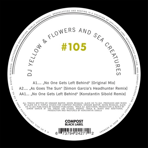 Compost Black Label #105 by DJ Yellow
