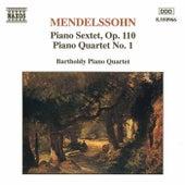 Piano Quartet No. 1/ Sextet, Op. 110 by Felix Mendelssohn