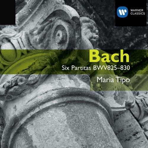Bach: 6 Partitas, BWV 825-830 by Maria Tipo