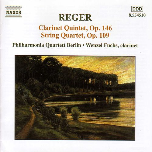 Clarinet Quintet / String Quartet Op. 109 by Max Reger