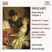 Piano Duets Vol. 1 by Wolfgang Amadeus Mozart