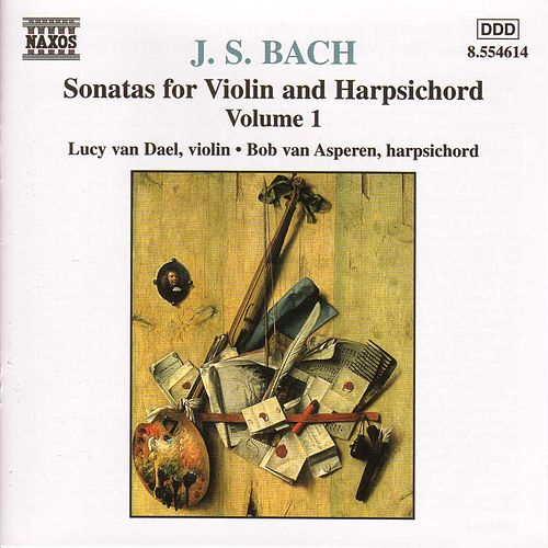 Sonatas for Violin and Harpsichord Vol. 1 by Johann Sebastian Bach