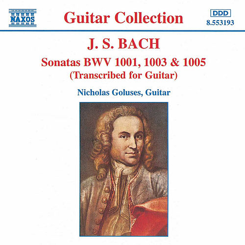 Sonatas For Guitar by Johann Sebastian Bach